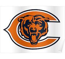 Chicago Bears Logo 1 Poster