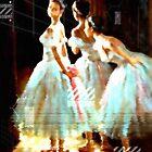 Impressions Of Modern Ballet by Romanovna Fine Art Prints