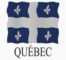 Quebec flag by stuwdamdorp