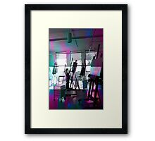 The Painter Framed Print