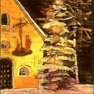 Christmas in Germany with Chapel by Marie Luise  Strohmenger