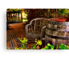 """""""On the Porch"""" Canvas Print"""