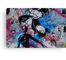 Mr Monopoly  Canvas Print