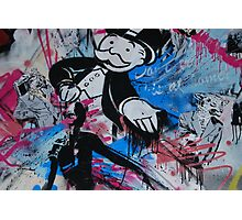 Mr Monopoly  Photographic Print