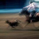 Blurred Roper #1 by Syd Bates