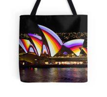 Psychedelic Sails - Sydney Vivid Festival - Sydney Opera House Tote Bag