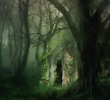Love Affair In A Forest by Romanovna Fine Art Prints