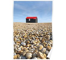 Fisherman's Hut Rye Harbour Poster