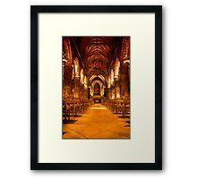 St Giles Walkway Framed Print