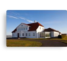 Bessastaðir -  the Presidential Residence Canvas Print