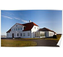 Bessastaðir -  the Presidential Residence Poster