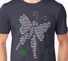 Even a caterpillar can be forgiven - white Unisex T-Shirt