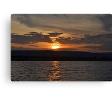 Sunset 2 Canvas Print