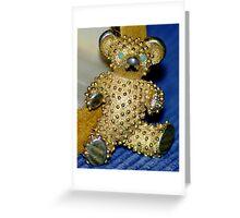 A Teddy Bear............. Greeting Card