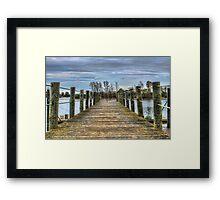 Portugal Tagus River Afluent Framed Print