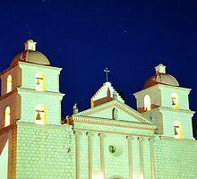 Mission Santa Barbara by amira