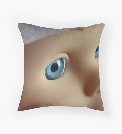 Living Doll! Throw Pillow