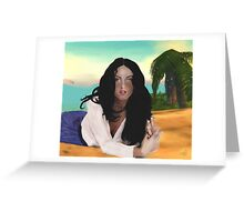 Mirelia Mongraz Greeting Card