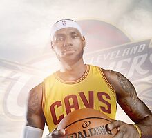 Lebron James by BahaaGazzaz