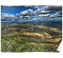 Douro Valleys and Mountains, Portugal Poster