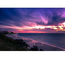 Sunset Coast Photographic Print