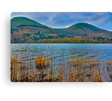 Autumn Colours at Buttermere Canvas Print