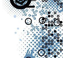 Cool Dotty Dots & Crazy Circles iPhone Case by Denis Marsili - DDTK