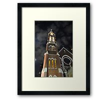 Night Building Beauty Framed Print