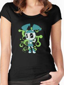 Teenage Robot Women's Fitted Scoop T-Shirt