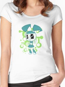 Teenage Robot Women's Fitted Scoop T-Shirt