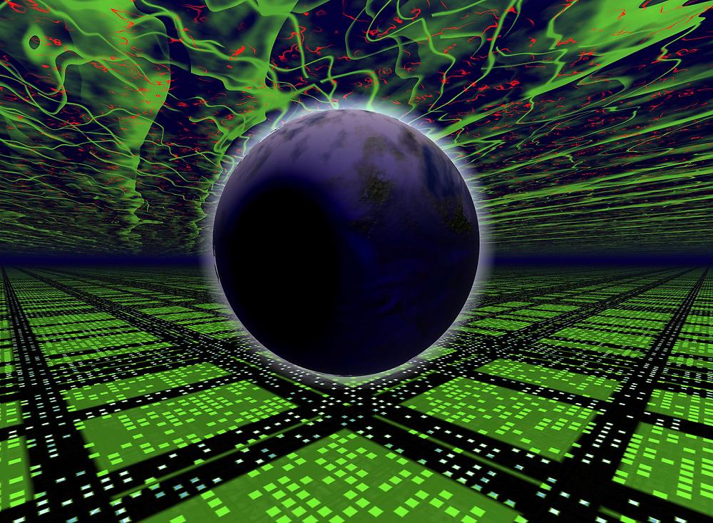 Gliese 581 c by Benedikt Amrhein