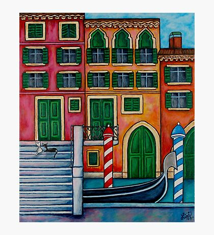 Colours of Venice Photographic Print