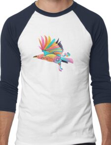 The bird  Men's Baseball ¾ T-Shirt
