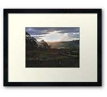 Curbar Gap, Derbyshire -1 Framed Print
