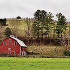The Barn & The Well House by A Different Eye Photography