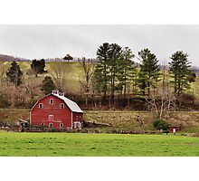 The Barn & The Well House Photographic Print