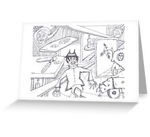 boris Greeting Card