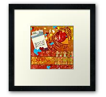 heART Pocket... Framed Print