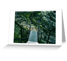 We Passed Upon The Stair Greeting Card