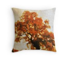 Along a rural road Throw Pillow
