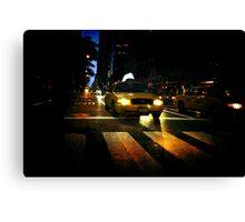 New York Night ~ New York City, USA Canvas Print