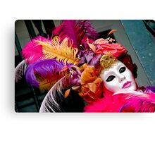Carnival Feathers Canvas Print