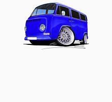 VW Bay-Window Camper Van (D) Blue Unisex T-Shirt