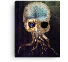 Skull of Cthulhu Canvas Print