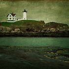 Nubble Lighthouse ~ Maine, USA by Sabine Jacobs