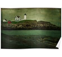 Nubble Lighthouse ~ Maine, USA Poster