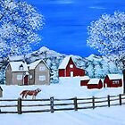 Winter on the Farm by maggie326