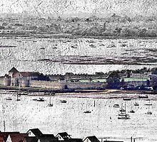 Portchester Castle by dmacwill