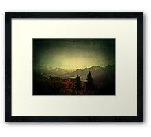 Limitless ~ Austria, Europe Framed Print