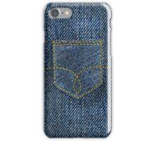 Denim Pocket iPhone Case/Skin